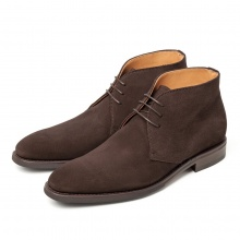 Boots Berwick 910 Brown Suede