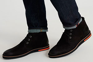 What can be worn with chukka boots?