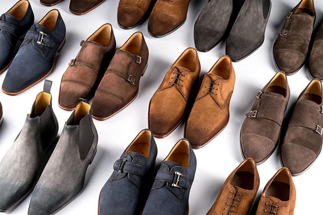 Spanish shoe brands: in alphabet order