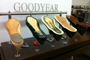 Main steps of the production of Goodyear Welted shoes